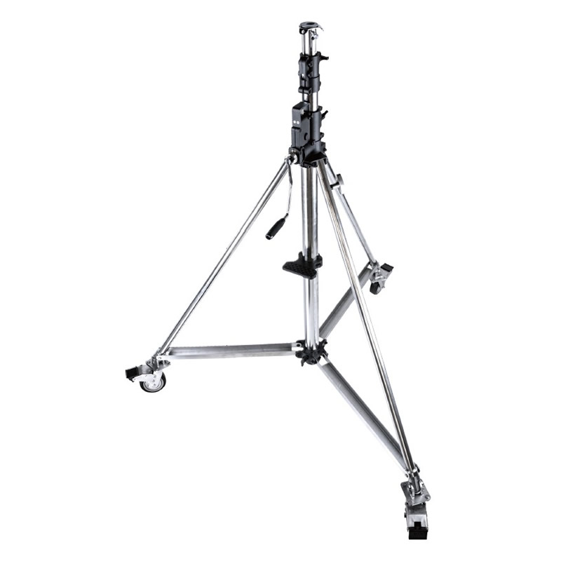 484 / Heavy Duty Wind-Up Stand with Braked Caster