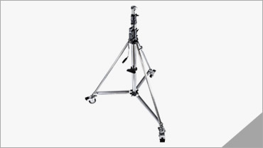KUPO Heavy Duty Wind-Up Stand with Braked Caster